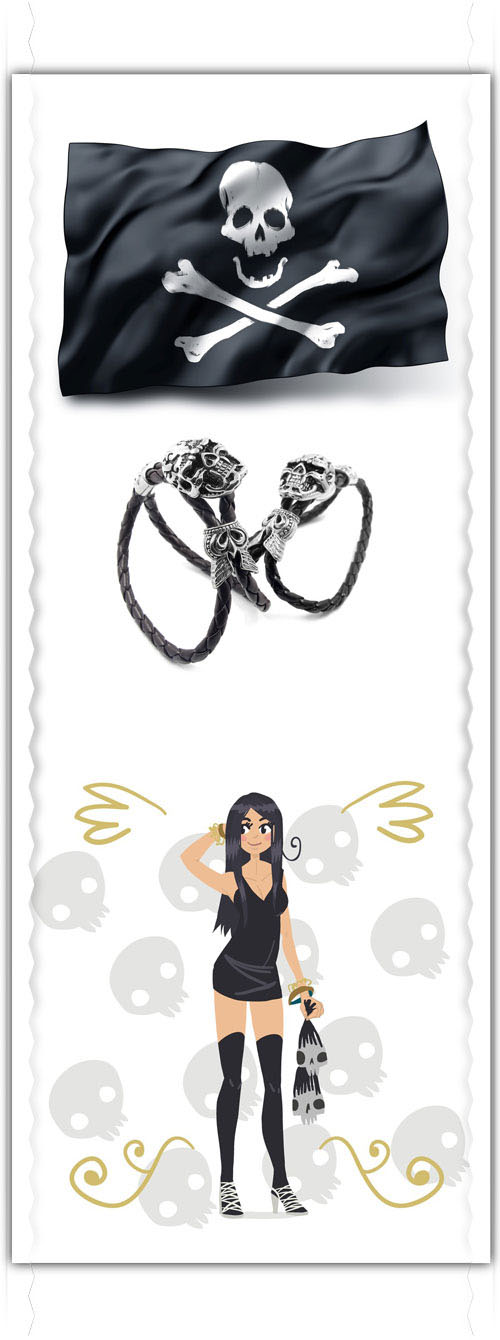 The meaning and symbolisms of skulls in fashion and jewelry